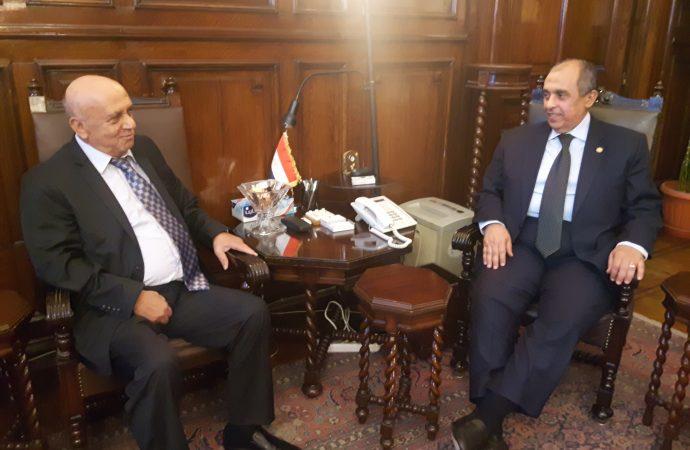 أكساد: تعزيز التعاون العلمي والفني التطبيقي مع وزارة الزراعة المصرية