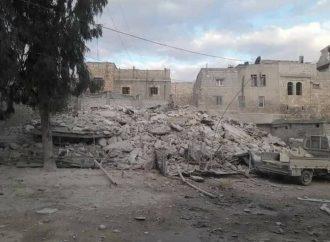 خمس وفيات بانهيار مبنى في حي المعادي بحلب القديمة