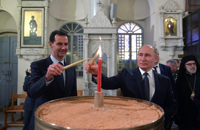 بوتين يقترح على الأسد دعوة ترامب إلى دمشق.. ماذا كان رد الرئيس السوري؟
