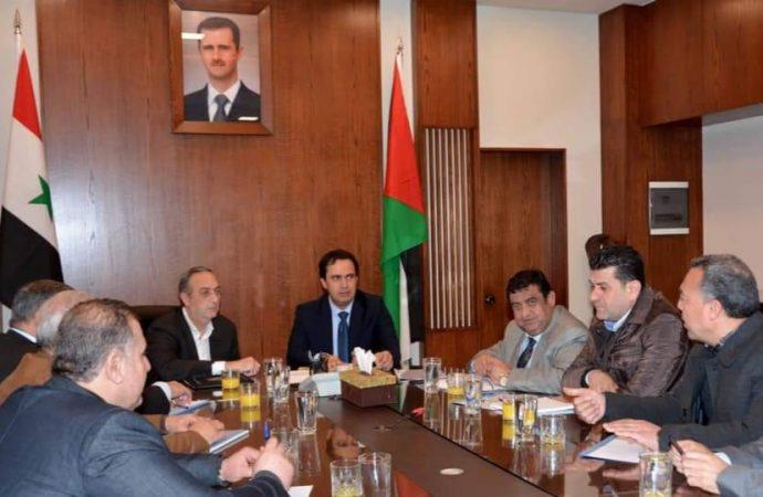 ترسيم الحدود بين محافظتي دمشق وريفها.. وتأجيل تحديد سعر المتر المربع في الدوير
