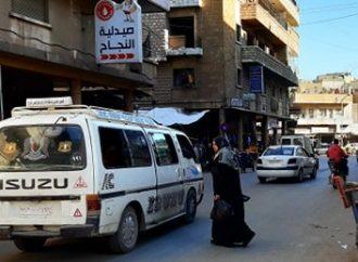 350 ليرة مخالفة الإساءة للمواطن..!! سرافيس مدينة حماة تعاني من نقص في المازوت