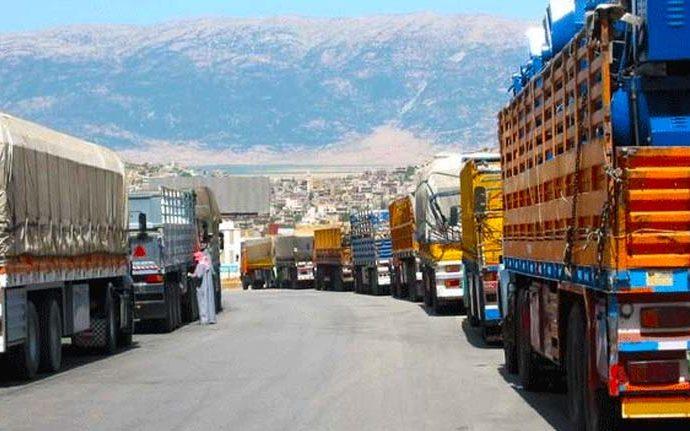 استئناف حركة النقل عبر الأردن في 2 أيلول القادم