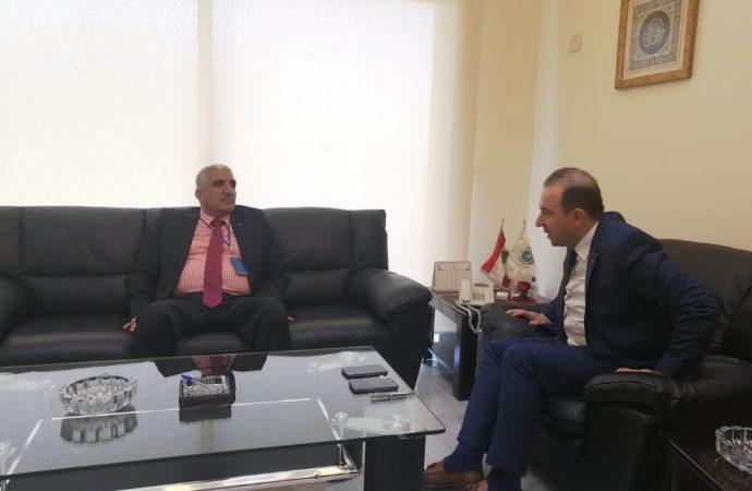 تعاون بحثي وفني بين أكساد ووزارة الزراعة اللبنانية