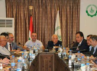 اللحام خلفاً للقلاع في رئاسة اتحاد غرف التجارة السورية