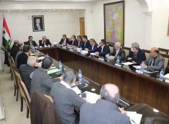 محافظي دمشق وريف دمشق يبحثان ملفات النقل والمحروقات والنفايات الصلبة والحدود الإدارية