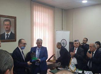 اتفاق تعاون علمي وفني بين أكساد وجامعة حماة