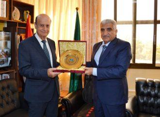 أكساد واتحاد المهندسين الزراعيين العرب يبحثان آفاق التعاون