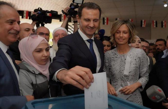 بنسبة 95.1 % فوز الدكتور بشار الأسد بولاية دستورية جديدة لرئاسة الجمهورية العربية السورية